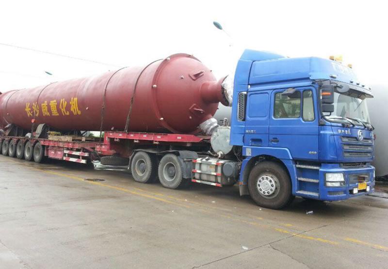 长沙威重至新疆乌鲁木齐甘泉堡工业区